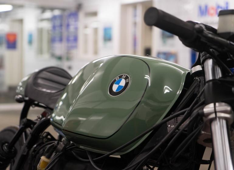Green BMW R80 Custom